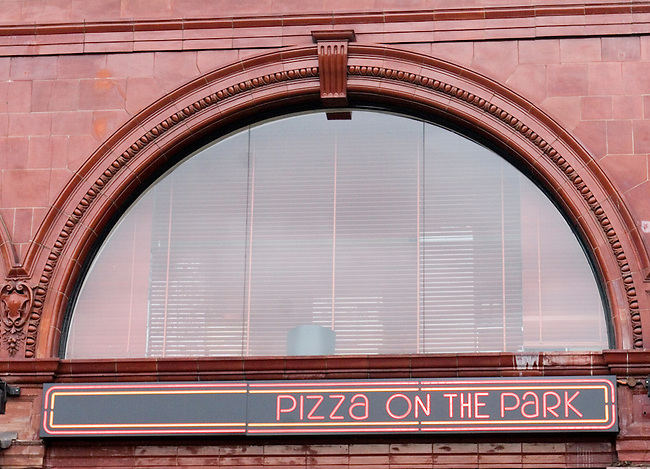 Exterior, Pizza on the Park Restaurant, Knightsbridge, London, Great Britain, Europe