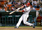 4 August 2007: Washington Nationals outfielder Ryan Langerhans in action against the St. Louis Cardinals at RFK Stadium in Washington, DC. The Nationals defeated the Cardinals 12-1 in the second game of their 3-game series...Mandatory Photo Credit: Ed Wolfstein Photo