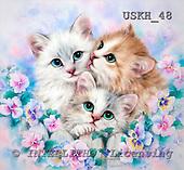 Kayomi, CUTE ANIMALS, paintings, DayDreamers_M, USKH48,#AC# illustrations, pinturas ,everyday
