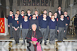 The confirmation class from St Francis Boys National School, Kenmare who were confirmed by Bishop Bill Murphy in the Holy Cross Church, Kenmare on Monday, March 12th.