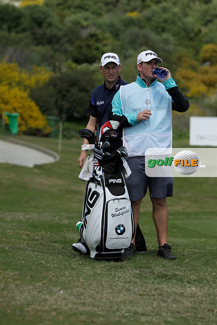 Simon Wakefield (ENG) during Round 1 of the NH Collection Open at the La Reserva de Sotogrande Club de Golf in Cadiz Spain on Thursday 3rd April 2014<br /> Picture:  Thos Caffrey / www.golffile.ie