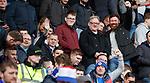 24.02.2019 Hamilton v Rangers: Rangers fans