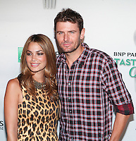 Tennis player Mardy Fish attends the 13th Annual 'BNP Paribas Taste of Tennis' at the W New York.  New York City, August 23, 2012. © Diego Corredor/MediaPunch Inc. /NortePhoto.com<br />