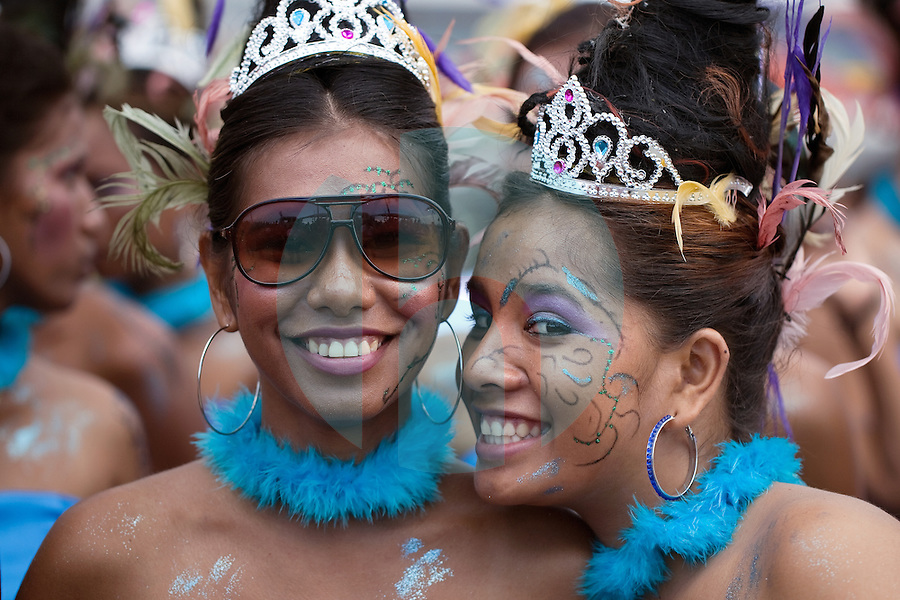 March 5th, 2011_DILI, TIMOR-LESTE_ People enjoy Timor-Leste's 3rd annual Carnival Parade.  Thousands turned out for the event which included the parade and a music fesival. Photographer: Daniel J. Groshong/Tayo Photo Group