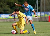 Gokhan Inler  durante l amichevole Napoli  Anaune a Dimaro 21 Luglio 2015<br /> <br /> Preseason summer training of Italy soccer team  SSC Napoli  in Dimaro Italy July 11, 2015