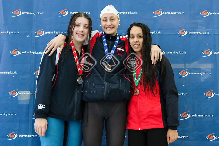 2017 Victorian Age Chanpionships- Day Five, Molly Batchelor Isabel Ekelmans, Kayla Costa