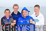 trophy winners at the Ballinskelligs regatta on Sunday was l-r: Aidan O'Connor, Kevin Curran, Brian Coffey and Liz McGuire Caherciveen    Copyright Kerry's Eye 2008