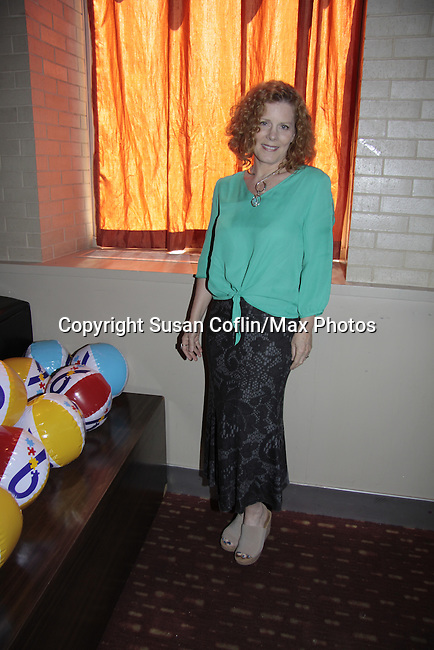 Liz Keifer - Autism - 11th Annual Daytime Stars & Strikes Event for Autism - 2015 on April 19, 2015 hosted by Guiding Light's Jerry ver Dorn (& OLTL) and Liz Keifer at Bowlmor Lanes Times Square, New York City, New York. (Photos by Sue Coflin/Max Photos)