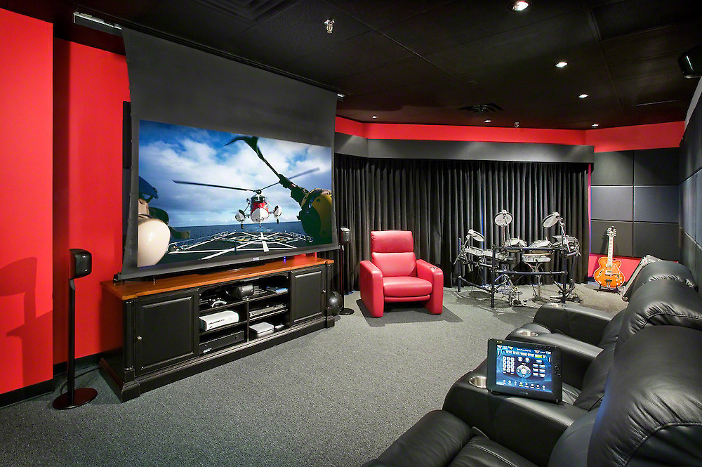 Media And Music Room