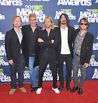 The Foo Fighters at 2011 MTV Movie Awards held at Gibson Ampitheatre in Universal City, California on June 05,2011                                                                               © 2011 Hollywood Press Agency