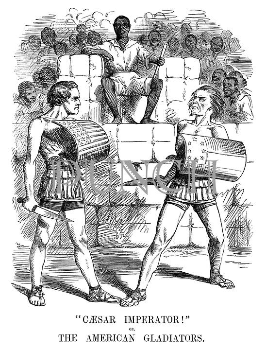 """""""Caesar Imperator!"""" or The American Gladiators."""