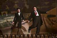 STAN &amp; OLLIE (2018)<br /> Left to right: Steve Coogan as Stan Laurel, John C. Reilly as Oliver Hardy,<br /> *Filmstill - Editorial Use Only*<br /> CAP/FB<br /> Image supplied by Capital Pictures