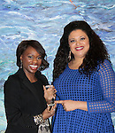 Color of Beauty Awards hosted by VH1's Gossip Table's Delaina Dixon and Michelle Buteau (VH1 Big Morning Buzz Live) on February 28, 2015 with red carpet, awards and cocktail reception at Ana Tzarev Gallery, New York City, New York.  (Photo by Sue Coflin/Max Photos)