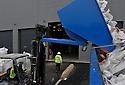 18/01/12 - DOMERAT - ALLIER - FRANCE - ENVIRONNEMENT RECYCLING et RECYCLEA, entreprises dadaptees autour de la gestion de fin de vie et du recyclage des materiels informatiques et electroniques - Photo Jerome CHABANNE