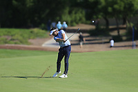 Mike Lorenzo-Vera (FRA) on the 1st fairway during the 3rd round of the DP World Tour Championship, Jumeirah Golf Estates, Dubai, United Arab Emirates. 23/11/2019<br /> Picture: Golffile | Fran Caffrey<br /> <br /> <br /> All photo usage must carry mandatory copyright credit (© Golffile | Fran Caffrey)
