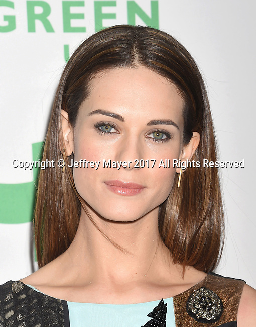 LOS ANGELES, CA - FEBRUARY 22: Actress Lyndsy Fonseca arrives at the 14th Annual Global Green Pre-Oscar Gala at TAO Hollywood on February 22, 2017 in Los Angeles, California.