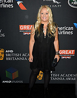 Lucy Davis at the 2017 AMD British Academy Britannia Awards at the Beverly Hilton Hotel, USA 27 Oct. 2017<br /> Picture: Paul Smith/Featureflash/SilverHub 0208 004 5359 sales@silverhubmedia.com