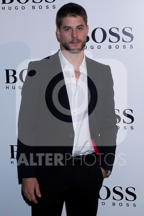 31.05.2012. Celebrities attend opening ceremony of the new BOSS Store Madrid Jorge Juan on the terrace of the Palacio de Cibeles. In the image Luis Fernandez (Alterphotos/Marta Gonzalez)