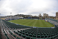A general view of the Recreation Ground prior to the match. European Rugby Champions Cup match, between Bath Rugby and Glasgow Warriors on January 25, 2015 at the Recreation Ground in Bath, England. Photo by: Patrick Khachfe / Onside Images