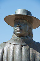Stevie Ray Vaughan statue up close