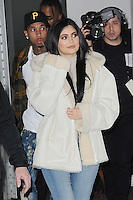 www.acepixs.com<br /> February 17, 2017 New York City<br /> <br /> Kylie Jenner seen at the Yeezy Fashion Show Season 5 on February 17, 2017 in New York City.<br /> <br /> Credit: Kristin Callahan/ACE Pictures<br /> <br /> <br /> Tel: 646 769 0430<br /> e-mail: info@acepixs.com