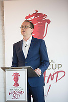 Picture by Charlie Forgham-Bailey/SWpix.com 13/07/2017 - International Rugby League - Rugby League World Cup 2021 - RLWC2017 Presentation at ALTITUDE LONDON, SKYLOFT Millbank Tower, London - Jon Dutton