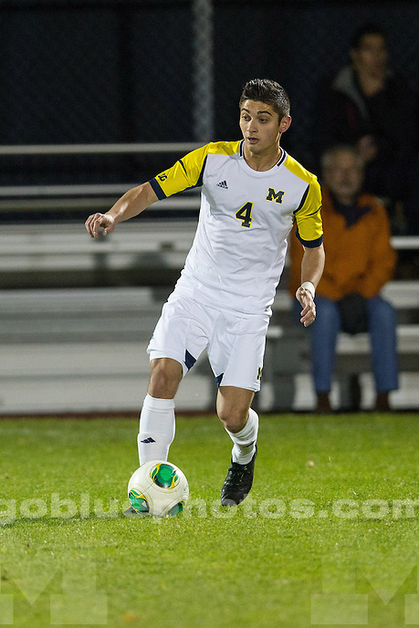 The University of Michigan men's soccer team beat Valparaiso, 1-0, at the UM Soccer Complex in Ann Arbor, Mich., on November 4, 2013.