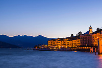 Blue Dawn, Bellagio Italy.  It was to my surprise to arrive in Italy and find the real Bellagio was on lake Como and not on the Las Vegas Strip.  I think I like the one in Italy better