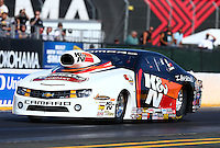Jul. 26, 2013; Sonoma, CA, USA: NHRA pro stock driver Mike Edwards during qualifying for the Sonoma Nationals at Sonoma Raceway. Mandatory Credit: Mark J. Rebilas-