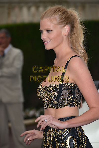 CAP D'ANTIBES, FRANCE - MAY 22: Lara Stone attends amfAR's 21st Cinema Against AIDS Gala at Hotel du Cap-Eden-Roc on May 22, 2014 in Cap d'Antibes, France. <br /> CAP/PL<br /> &copy;Phil Loftus/Capital Pictures