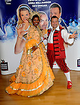 deniece Pearson and kev orkian at the press launch for the MILTON KEYNES THEATRE  Pantomime Cinderella  (07 Dec - 06 Jan)  Picture By: Brian Jordan / Retna Pictures.. ..-..