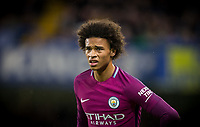 Leroy Sane of Manchester City during the EPL Premier League match between Chelsea and Manchester City at Stamford Bridge, London, England on 30 September 2017. Photo by Andy Rowland.