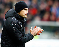 Heiko HERRLICH, Trainer Bayer Leverkusen,  Portraet, Halbkoerper,   , Coachingzone,  Fussball, 1. Bundesliga  2017/2018<br /> <br />  <br /> Football: Germany, 1. Bundesliga, SC Freiburg vs Bayer 04 Leverkusen, Freiburg, 03.02.2018 *** Local Caption *** © pixathlon<br /> Contact: +49-40-22 63 02 60 , info@pixathlon.de