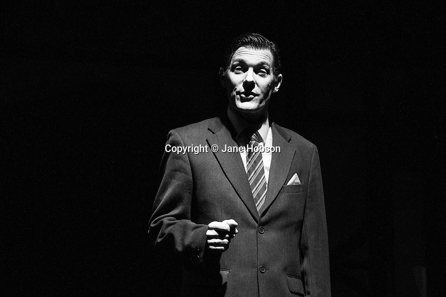 Brighton, UK. 12.03.2013. Spymonkey presents COOPED at The Old Market theatre. The production is a demented comic take on gothic romance, and transfers to the Leicester Square Theatre Main House, from 18 to 23 March 2013. Created by Cal McCrystal, Aitor Basauri, Stephan Kreiss, Petra Massey and Toby Park. Directed by Cal McCrystal, designed by Lucy Bradridge, lighting by Petter Skramstad , sound by Toby Park. Photo credit: Jane Hobson.