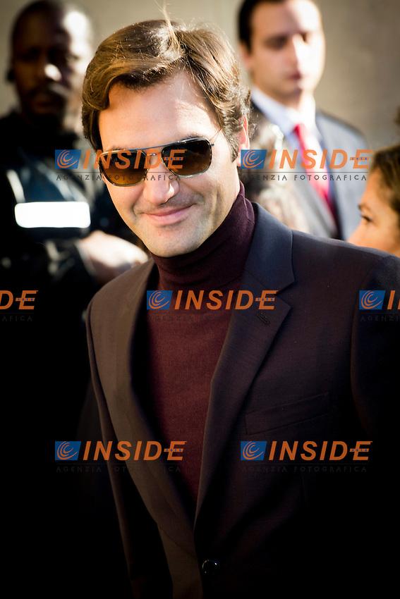 Roger Federer Chanel s fashion show arrivals - Paris - 04/10/2016 <br /> Foto Panoramic / Insidefoto