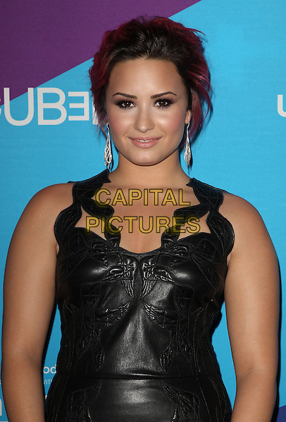 Los Angeles, CA - FEBRUARY 27: Demi Lovato Attending Unite4good And Variety Host 1st Annual Unite4:humanity Event, Held at Sony Pictures Studios California on February 27, 2014.  <br /> CAP/MPI/RTNUPA <br /> &copy;RTNUPA/MediaPunch/Capital Pictures