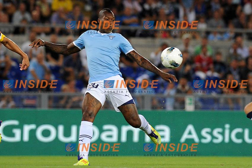 Dibrijl Cisse (LAzio).Lazio vs Real Sociedad.Amichevole di calcio.Roma, 11/08/2011.Photo Antonietta Baldassarre Insidefoto
