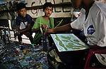 Cambodian Children's Painting Project is a simple but efficient project where the children of Sihanoukville are selling their own paintings to tourists on the beach for 4$, where 2$ goes to their families and 2$ to cover school costs for the children. This way, not only do they continue to earn money for the family and have the opportunity to go to school, but the projects gallery is also a place to teach the children rules like not to stay out after dark, not to steal and gamble, aswell as being a safe meeting place where they can come and play with other children. The organization also provide clean drinking water and one healthy meal a day, medical first aid and prevention information sessions on sexual and health education.