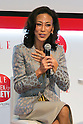 Haruno Yoshida, president of BT Japan Corporation speaks to the audience during the ''ELLE Women in Society'' event on July 13, 2015, Tokyo, Japan. The event promotes the working women's roll in Japanese society with various seminars where top businesswomen, musicians, writers and other international celebrities speak about the working women's roll in the world. By 2020 Prime Minister Shinzo Abe's administration aims to increase the percentage of women in leadership positions to 30% in Japan. (Photo by Rodrigo Reyes Marin/AFLO)