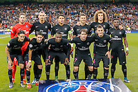 Paris Saint Germain team group