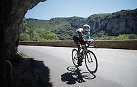 Jan Bakelants (BEL/Ag2r-LaMondiale)<br /> <br /> stage 13 (ITT): Bourg-Saint-Andeol - Le Caverne de Pont (37.5km)<br /> 103rd Tour de France 2016