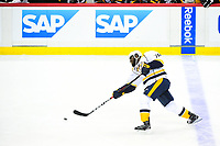 May 29, 2017: Nashville Predators defenseman P.K. Subban (76) takes a shot during game one of the National Hockey League Stanley Cup Finals between the Nashville Predators  and the Pittsburgh Penguins, held at PPG Paints Arena, in Pittsburgh, PA.   Eric Canha/CSM