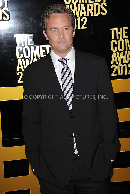 WWW.ACEPIXS.COM . . . . . .April 28, 2012...New York City....Matthew Perry arriving to attend The Comedy Awards 2012 at Hammerstein Ballroom on April 28, 2012  in New York City ....Please byline: KRISTIN CALLAHAN - ACEPIXS.COM.. . . . . . ..Ace Pictures, Inc: ..tel: (212) 243 8787 or (646) 769 0430..e-mail: info@acepixs.com..web: http://www.acepixs.com .