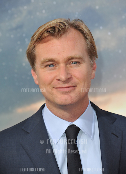 Director Christopher Nolan at the Los Angeles premiere of his movie Interstellar at the TCL Chinese Theatre, Hollywood.<br /> October 26, 2014  Los Angeles, CA<br /> Picture: Paul Smith / Featureflash