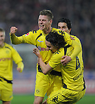 Fussball Bundesliga 2010/11, 13. Spieltag: SC Freiburg- Borussia Dortmund