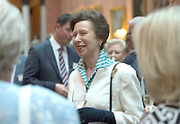 14 July 2016 - Princess Anne speaks to guests during a reception for the winners of  The Queen's Awards for Enterprise 2016 at Buckingham Palace in central London. Winners of The Queen's Awards for Enterprise 2016 which recognise excellence in international trade, innovation and sustainable development were joined by the Queen at the celebration on Thursday evening. More than 500 guests, including representatives from 254 winning companies, were at the event. Photo Credit: ALPR/AdMedia