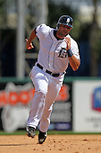 Detroit Tigers Alex Avila #13 during a exhibition game vs. the Florida Southern Mocs at Joker Marchant Stadium in Lakeland, Florida;  February 25, 2011.  Detroit defeated Florida Southern 17-5.  Photo By Mike Janes/Four Seam Images