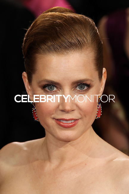 HOLLYWOOD, LOS ANGELES, CA, USA - MARCH 02: Amy Adams at the 86th Annual Academy Awards held at Dolby Theatre on March 2, 2014 in Hollywood, Los Angeles, California, United States. (Photo by Xavier Collin/Celebrity Monitor)
