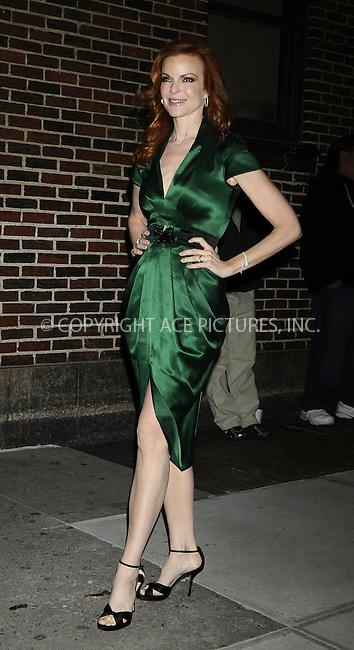 WWW.ACEPIXS.COM . . . . .  ....October 27 2008, New York City....Actress Marcia Cross made an appearance at the 'Late Show with David Letterman' at the Ed Sullivan Theater on October 27, 2008 in New York City. ....Please byline: AJ Sokalner - ACEPIXS.COM..... *** ***..Ace Pictures, Inc:  ..te: (646) 769 0430..e-mail: info@acepixs.com..web: http://www.acepixs.com