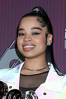 LOS ANGELES - MAR 14:  Ella Mai at the iHeart Radio Music Awards - Press Room at the Microsoft Theater on March 14, 2019 in Los Angeles, CA